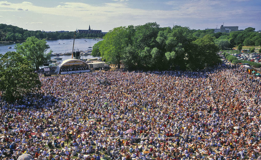 Tapahtuma Djurgårdenissa