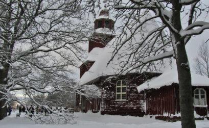 Seglora kyrka, Skansen